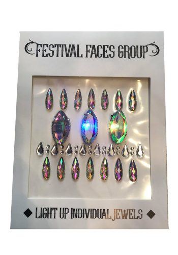 FESTIVAL FACES GROUP - INDIVIDUAL FESTIVAL FLASHING GEMS
