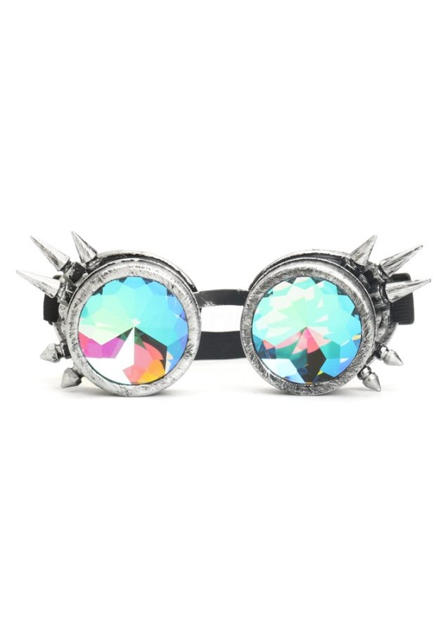 KALEIDOSCOPE FESTIVAL GOGGLES – SILVER SPIKE