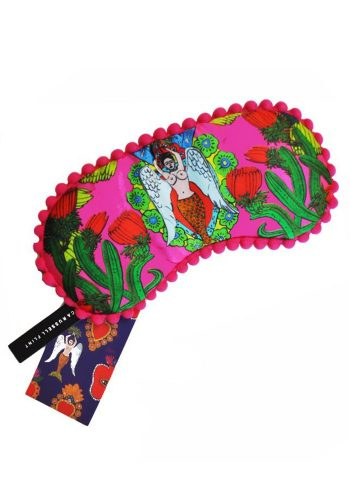 JESSICA RUSSEL FLINT - SILK EYE MASK - LADY MARGARITA