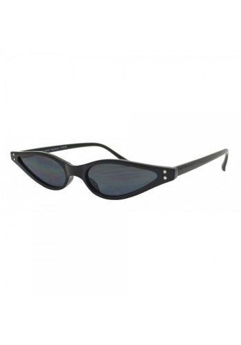 KOURTNEY - MINI CAT EYE SUNGLASSES - BLACK
