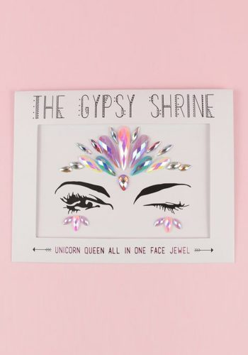 THE GYPSY SHRINE UNICORN QUEEN FESTIVAL FACE JEWELS