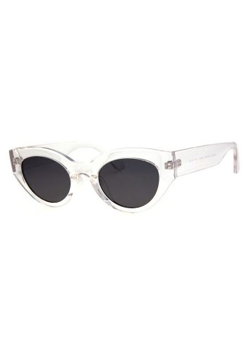 A J MORGAN DAMN GINA SUNGLASSES - CLEAR