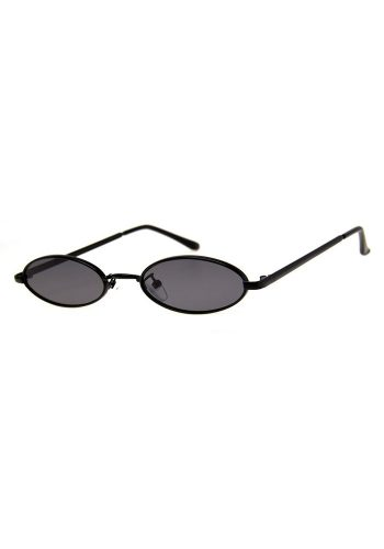 AJ MORGAN PEACE SUNGLASSES - MATT BLACK