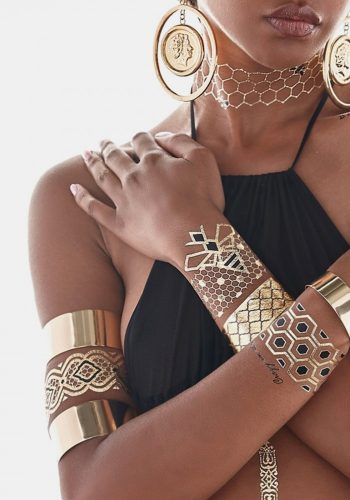 FLASH TATTOOS X BEYONCE