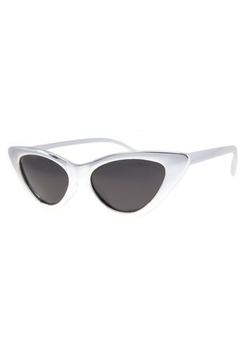A J MORGAN GEE WIZ SUNGLASSES - SILVER CHROME