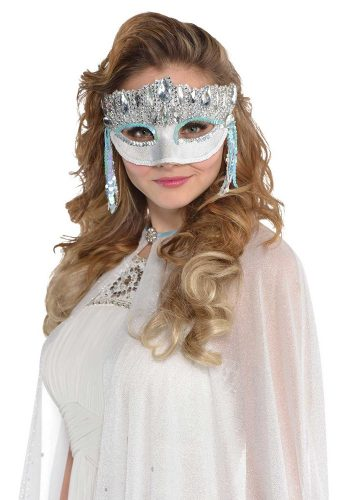 ICE FAIRY SPARKLE MASK - SILVER