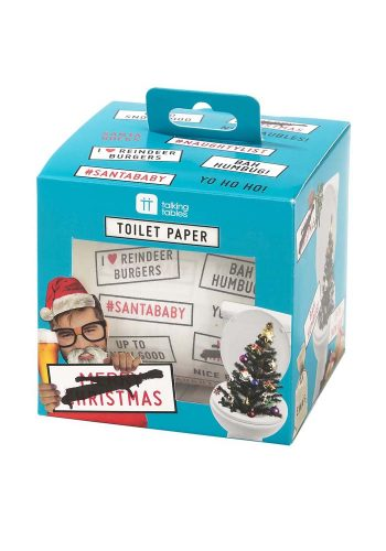 CHRISTMAS ENTERTAINMENT TOILET ROLL