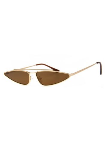 A J MORGAN PINCER SUNGLASSES - GOLD