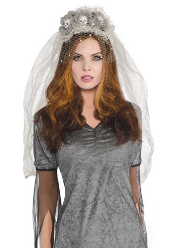 Accessories - GREY GHOST BRIDE HEADBAND