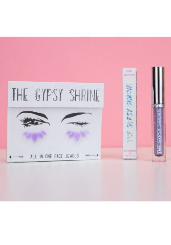 THE GYPSY SHRINE BEAUTY - ELECTRIC BLUE HOLOGRAPHIC LIP TOPPER