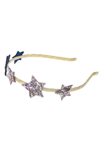 ROCKAHULA STAR GLITTER ALICE BAND - MULTI