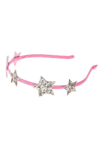 ROCKAHULA STAR GLITTER ALICE BAND - PINK