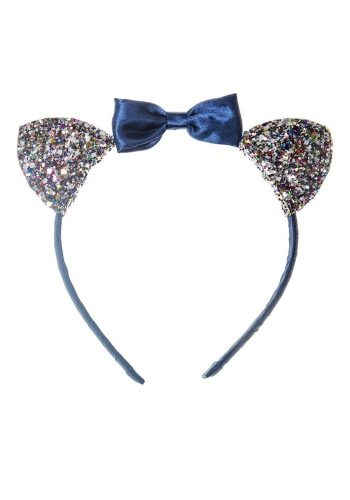 ROCKAHULA SUKI CAT EAR HEADBAND - BLUE