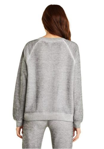 WILDFOX PIZZATARIAN SOMMERS SWEATER - HEATHER