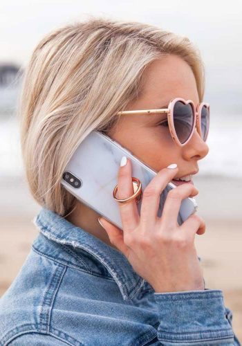 CASERY - PHONE RING - ROSE GOLD