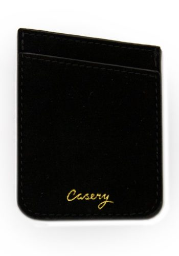 CASERY - PHONE POCKET - BLACK VELVET