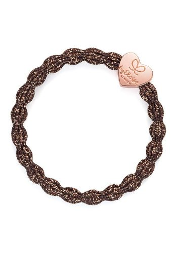 BYELOISE METALLIC ROSE GOLD HEART - BRONZE