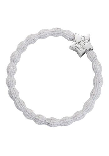 BYELOISE METALLIC SILVER STAR - WHITE