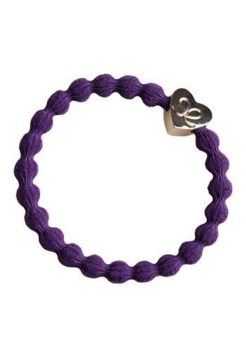 BYELOISE GOLD HEART - PURPLE