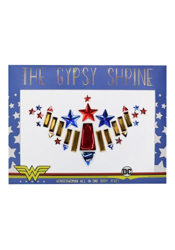 WONDER WOMAN CHEST PIECE | GYPSY SHRINE X WARNER BROS