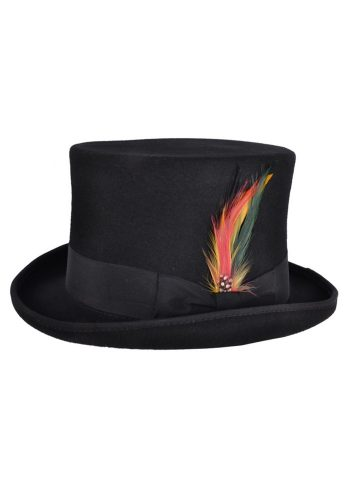 WOOL TOP HAT - BLACK