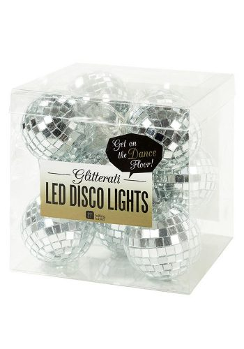 GLITTERATI DISCO BALL LED LIGHTS