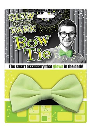 GLOW IN THE DARK BOW TIE