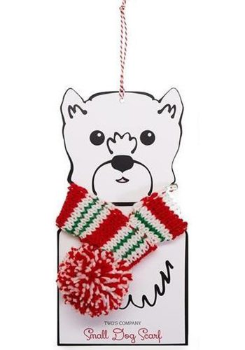 CHRISTMAS DOG SCARF - SMALL
