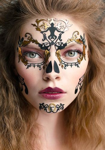 FACE LACE - DAY OF THE DEAD BAROQUE