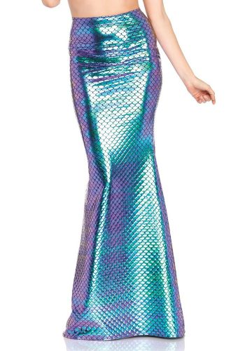 leg avenue IRIDESCENT SCALE MERMAID SKIRT