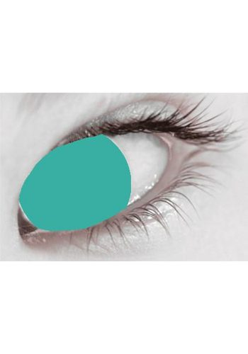 MESMEREYEZ ONE DAY CONTACT LENSES - GREEN BLIND