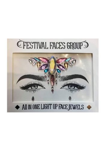 FESTIVAL FACES GROUP - ALL IN ONE FLASHING FACE GEM