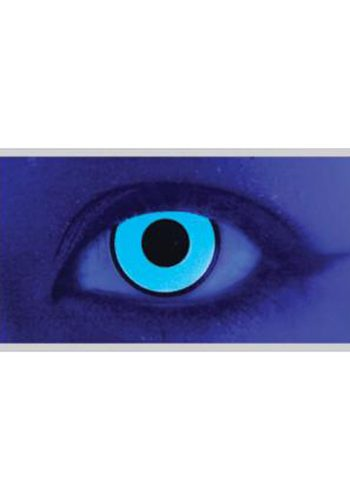MESMEREYES ONE DAY CONTACT LENSES - UV BLUE