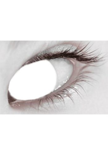 MESMEREYES ONE DAY CONTACT LENSES - WHITE BLIND
