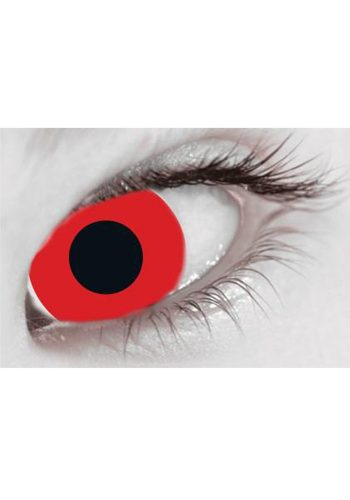 MESMEREYES ONE DAY CONTACT LENSES - BLOODY RED