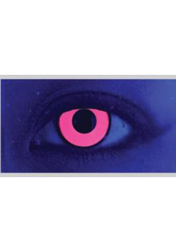 MESMEREYES ONE DAY CONTACT LENSES - UV PINK