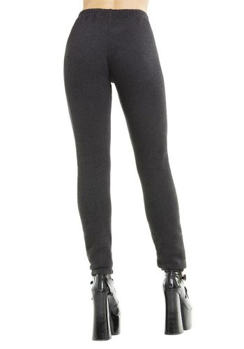 WILDFOX INSIDE OUT BOTTOMS KNOX PANTS - CLEAN BLACK