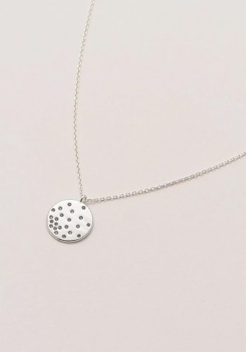 ESTELLA BARTLETT DIFFUSION NECKLACE - SILVER PLATED