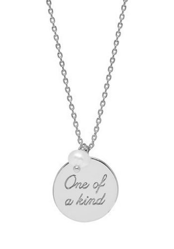 ESTELLA BARTLETT ONE OF A KIND NECKLACE - SILVER