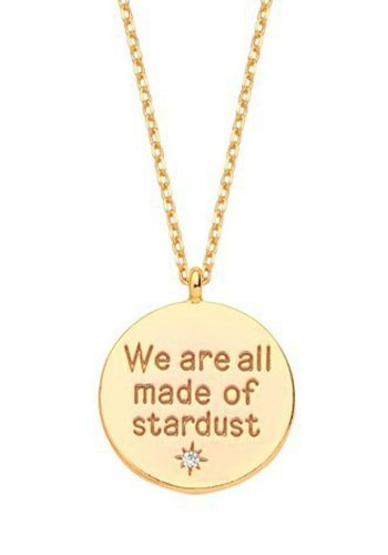 ESTELLA BARTLETT WE ARE ALL MADE OF STARDUST - GOLD PLATED