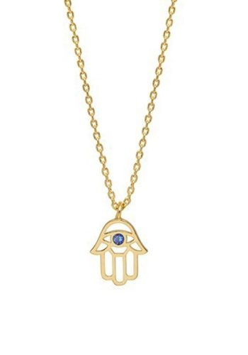ESTELLA BARTLETT HAMSA HAND NECKLACE - GOLD PLATED