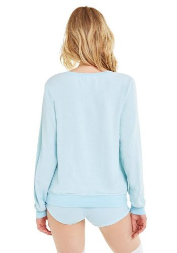 WILDFOX HUNGOVER THE MOON BAGGY BEACH JUMPER - TRUE HONOLULU BLUE