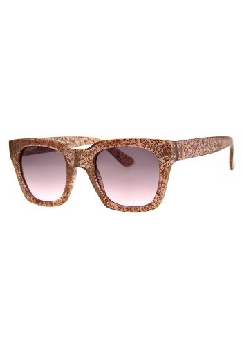 78bac34c60e A J MORGAN GLITTER SUNGLASSES - ROSE GOLD