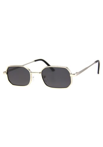 A J MORGAN 70'S SUNGLASSES - SILVER