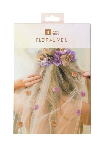 TALKING TABLES FLORAL VEIL