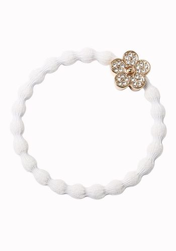 BYELOISE BLING DAISY FLOWER - WHITE