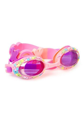 BLING20 SWIMMING GOGGLES - CANDY HEART COATED