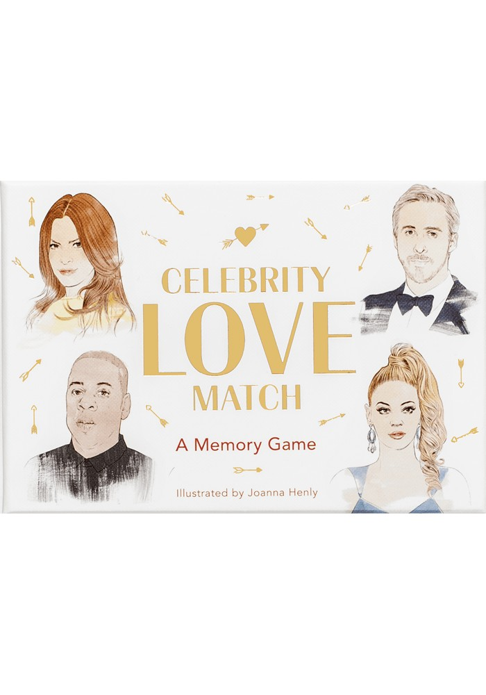 CELEBRITY LOVE MATCH – A MEMORY GAME
