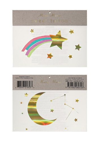 MERI MERI RAINBOW SHOOTING STAR TATTOOS