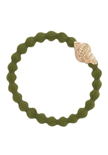 BYELOISE TROPICAL SEA SHELL - OLIVE GREEN